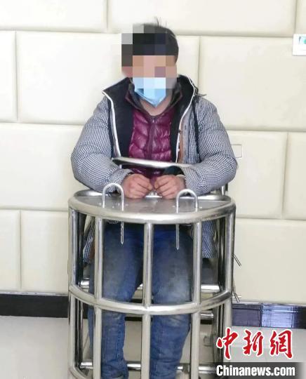 嫌疑人任某某被警方抓获。邢台市公安局供图